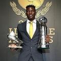 MVP&得点王のダブル受賞を果たしたオルンガが、日本で成功を収めるまでの苦労を明かした。©J.LEAGUE