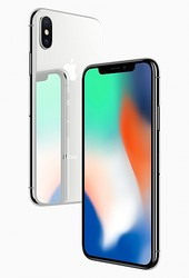 「iPhone X」(画像: アップの発表資料より)