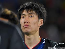 A代表デビューを飾った日本代表FW鎌田大地(シントトロイデン)