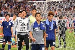 ロシア・ワールドカップで主力を担った香川も、トリニダード・トバゴ戦では出番がなかった。写真:山崎賢人(サッカーダイジェスト写真部)