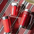 スターバックス×スタンレー、レッドカラーの新作ステンレスボトル3種