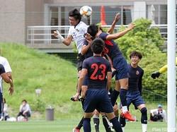 2本目41分、U-18日本代表候補CB井出敬大が頭で勝ち越しゴール