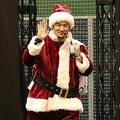 サンタクロース姿で登場した田中将大選手