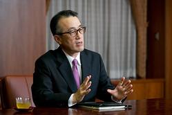 三菱東京UFJ銀行の三毛兼承頭取