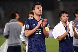 吉田主将の下、日本はトルクメニスタン戦、オマーン戦と、ギリギリでの勝利が続いている。 写真:茂木あきら(サッカーダイジェスト写真部)
