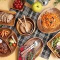 300円食器で作る「カフェ風キッチン」アカシア素材に熱視線