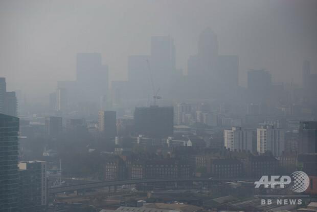 欧州都市の大気汚染、住民負担年20.7兆円 調査