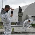 チェルノブイリで自撮り客増加
