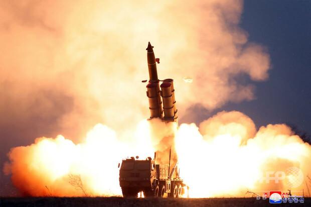 [画像] 北朝鮮、弾道ミサイル発射示唆 安倍首相を「歴史上最もばかな男」とも