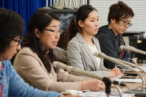 [画像] ワタミ過労死遺族「何の反省もしていない」、渡邉美樹氏の「週休7日が幸せなのか」発言に抗議