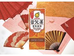香ばしいほうじ茶をブレンド!「豆乳飲料 ほうじ茶」新発売