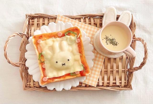 可愛いミッフィーのトーストが話題…なるほど!目からウロコの簡単さ、これなら私にもできる