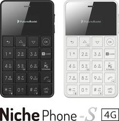 フューチャーモデル、小型のSIMフリー携帯電話「NichePhone-S 4G」を発売