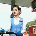 北朝鮮のガソリンスタンド(朝鮮中央テレビ)