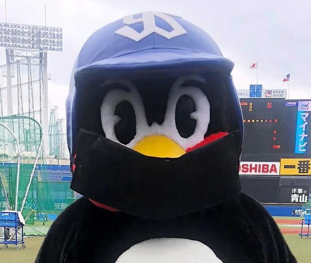 「つば九郎 黒マスク」の画像検索結果
