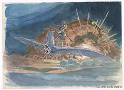 「風の谷のナウシカ」(1984)イメージボード 宮崎駿
